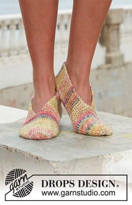 Gebreide slippers