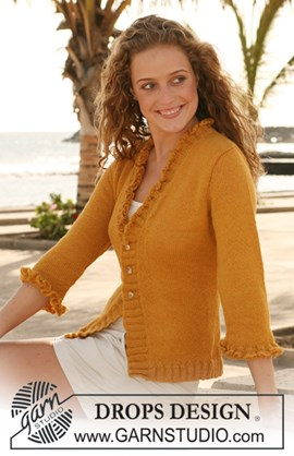 Vest in tricotsteek