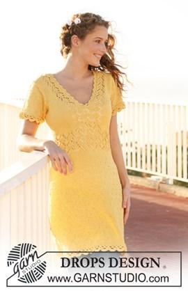 DROPS jurk van Muskat