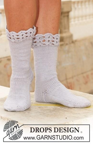 Brei- en haakpatroon Dames sokken