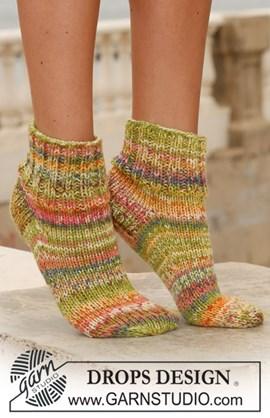 Korte sokken in boordsteek