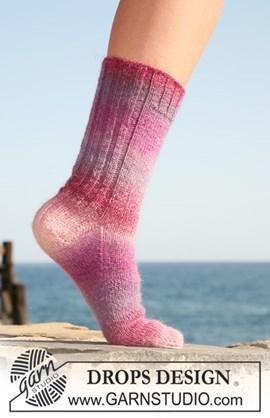 DROPS sokken van Delight. Maat 32 tot ....