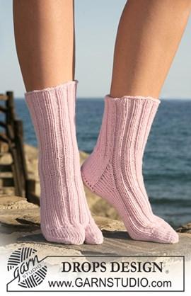 DROPS sokken met grote teen van Merino ....
