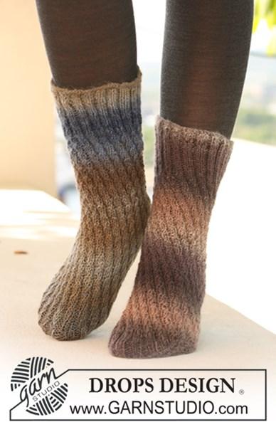 Breipatroon Koker sokken