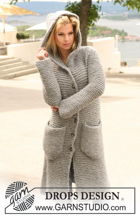 Vest met capuchon breien