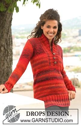 trui  met sjaalkraag