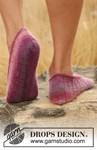 Breipatroon pantoffels. van andere kant