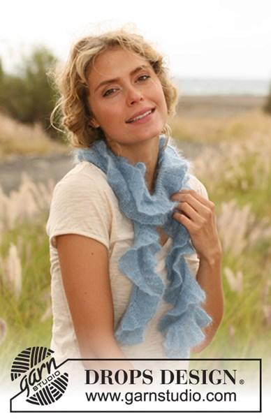 Breipatroon sjaaltje