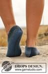 Breipatroon pantoffels van andere kant