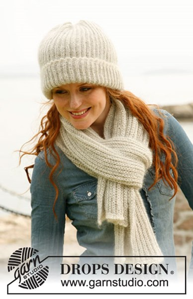 Brei- en haakpatroon Muts en sjaal