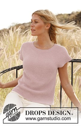 Gebreide top in ribbelst van Alpaca. ....