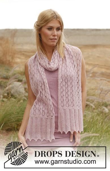 Breipatroon Gebreide sjaal