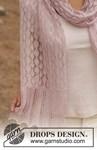 Breipatroon Gebreide sjaal van andere kant