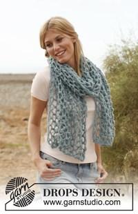 haakpatroon gehaakte-sjaal