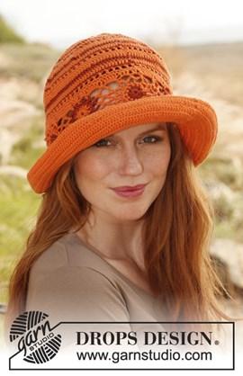 Gehaakte hoed van Safran en Cotton ....