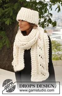 haakpatroon sjaal-en-hoofdband