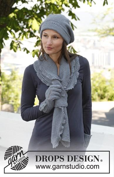 Breipatroon Baret en sjaal