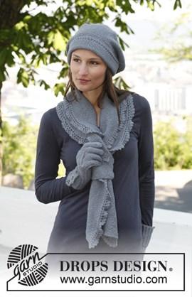 Baret en sjaal