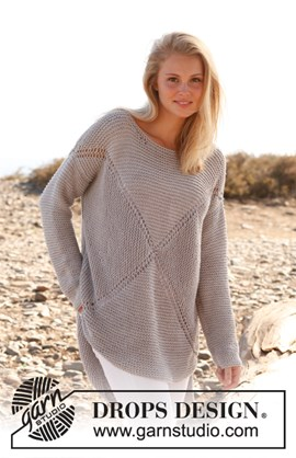 Comfortabele trui in een vierkant ....