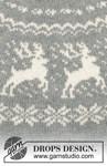 Breipatroon Gebreide trui met ronde pas van andere kant