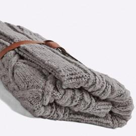 Bergere de France Prachtige deken/plaid (afm. 95 x 210 cm)