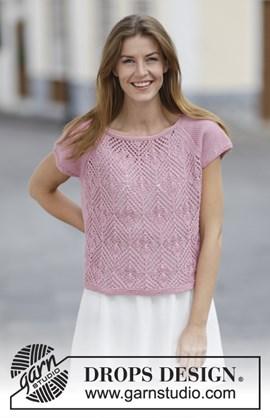 Breipatroon dames shirt met korte mouw ....