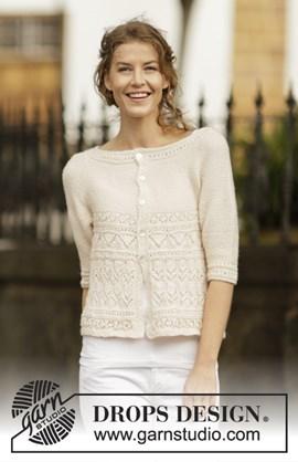 Breipatroon dames vest in ribbelsteek ....