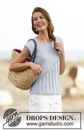 Gebreid trui zonder mouwen met ....