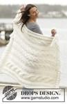 Breipatroon Gebreide deken en kussen  van andere kant