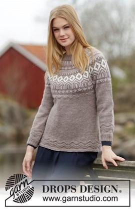 Gebreide getailleerde trui