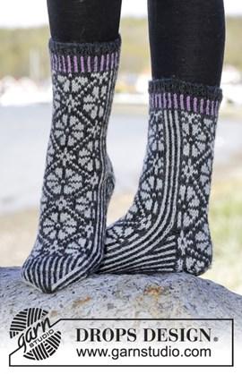 Sokken met Noors patroon