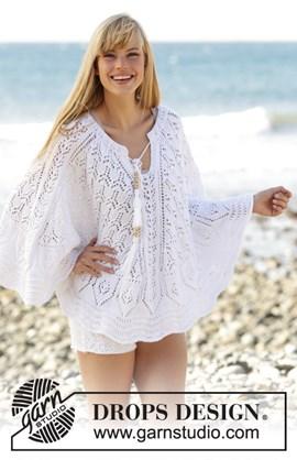 Extra wijde zomerse trui Angelica van ....
