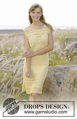 Haakpatroon jurk Mimosa met ....