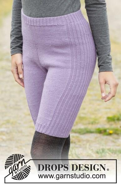 Breipatroon Dames legging