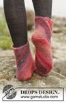 Breipatroon Dames sokken van andere kant