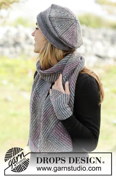 Breipatroon Baret, sjaal en polswarmers