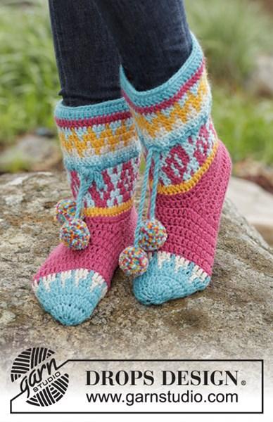 Haakpatroon Rock Them Socks