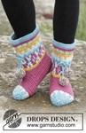 Haakpatroon Rock Them Socks van andere kant
