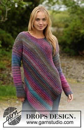 Gebreiden trui die door de gemeleerde ....