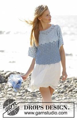 Aegean: haakpatroon trui met geknipte ....