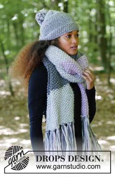 Breipatroon muts en sjaal