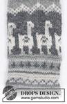 Breipatroon Sokken Lama Rama  van andere kant