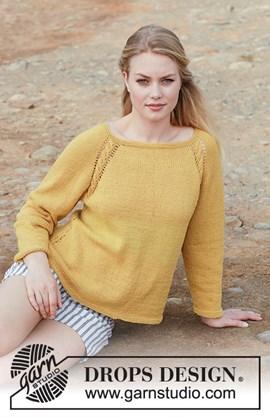 Breipatroon trui Golden Girl. Deze trui ....