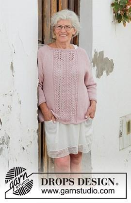 Breipatroon trui Teresa Sweater. Deze ....