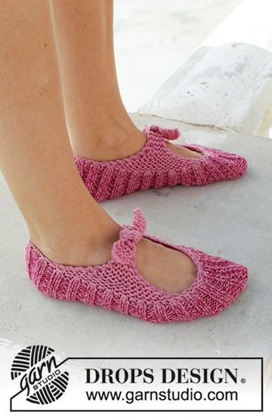 Breipatroon pantoffel