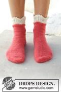Breipatroon korte sokken in twee ....