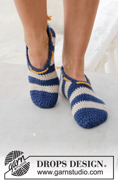 Haakpatroon pantoffel
