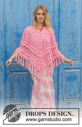 Haakpatroon zomerse dames poncho in ....