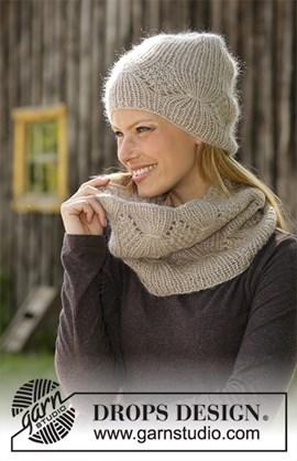 Breipatroon muts en halswarmer Warm Joy ....
