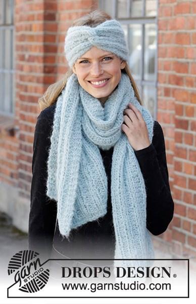 Breipatroon Hoofdband en sjaal
